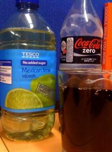 Squash and Coke