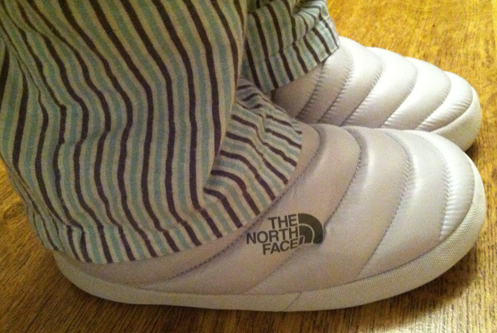 The North Face Down Slippers