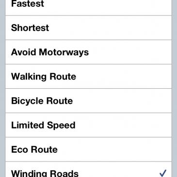 Winding Roads Please TomTom