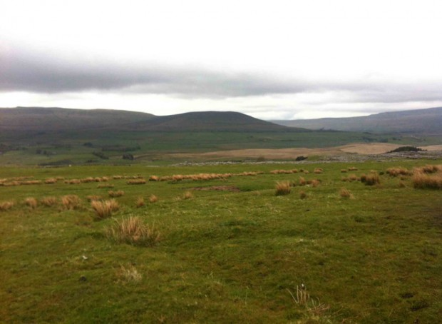 Yorkshire Three Peaks Challenge - Looking across from Pen-Y-Ghent