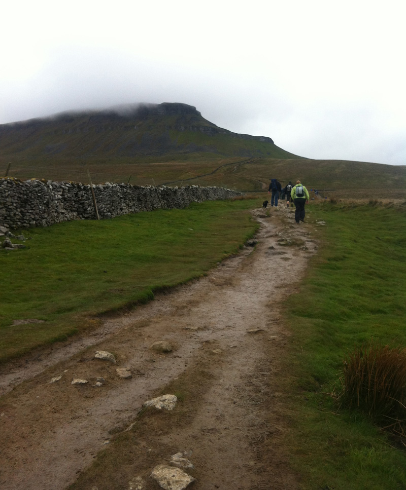 Yorkshire Three Peaks Challenge - It all started very nicely