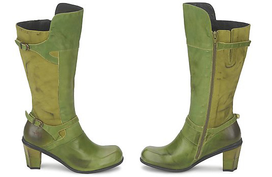 Green Iris Malin Boots by Eject