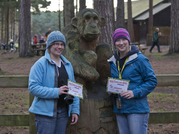 Go Ape, Sherwood Pines, Certificates