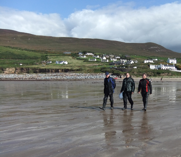 Bikers at Inch Beach