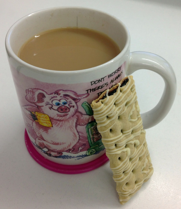 Snack Time - Special K Biscuit Moments and a Cuppa