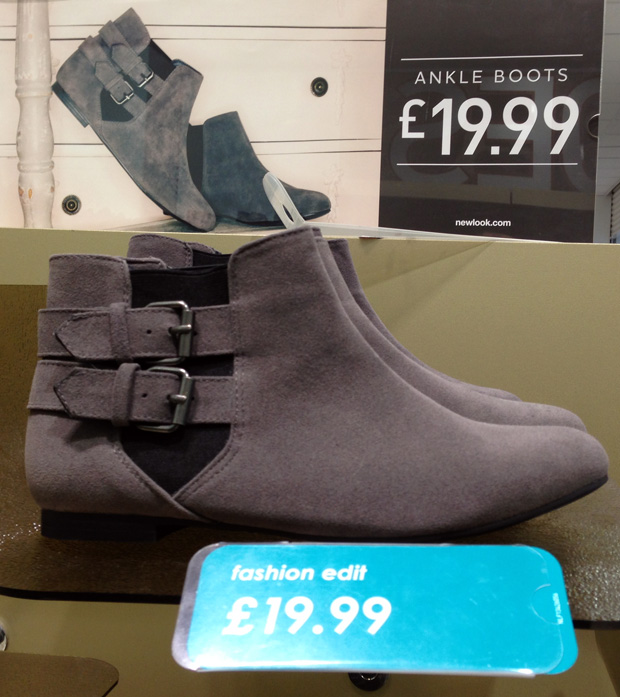 Boots from New Look £19.99