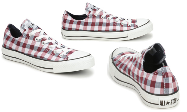 Converse Plaid Ox
