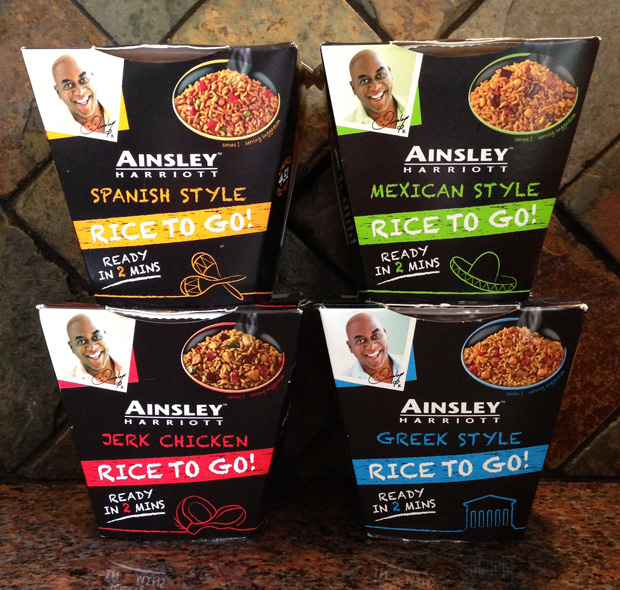 Ainsley Harriott Rice to Go