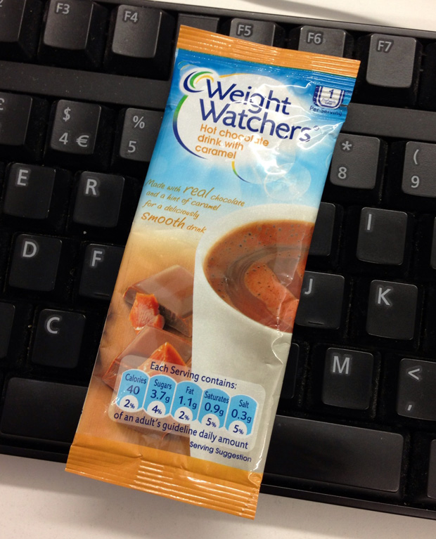 Weight Watchers Caramel Hot Chocolate
