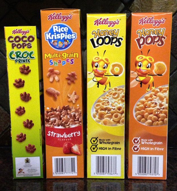 Kelloggs Kids' Cereals