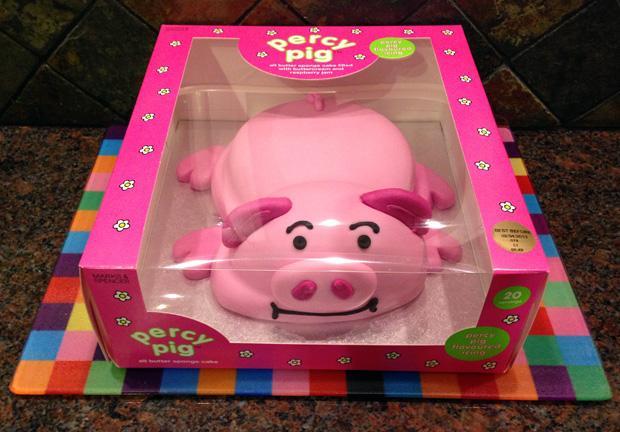 Percy Pig Celebration Cake