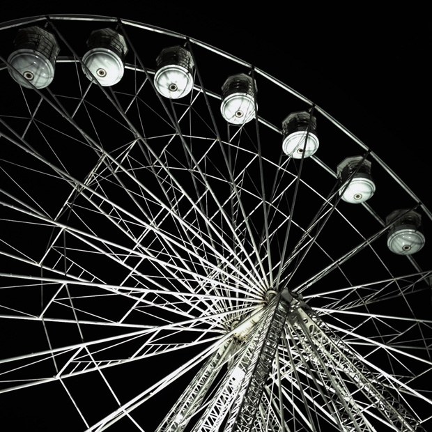 Big Wheel at Night (Lincoln Christmas Market)