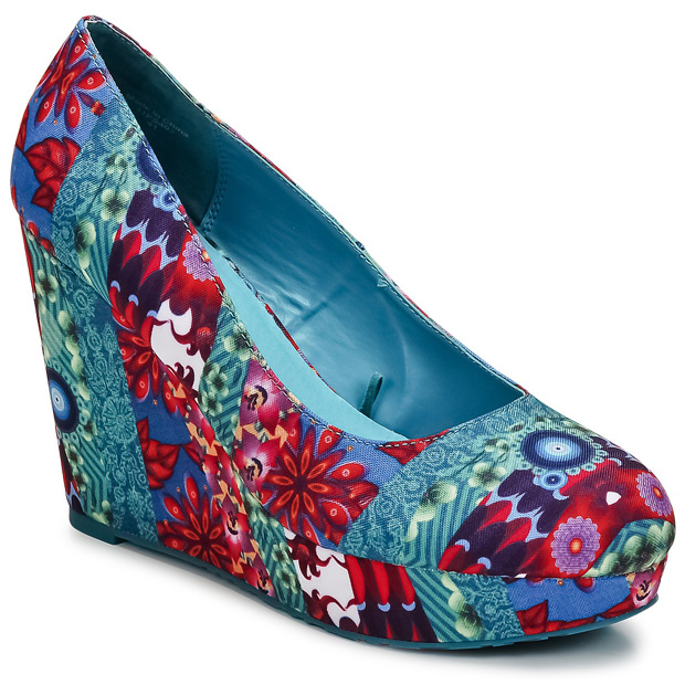 Desigual Wedge Court Pumps