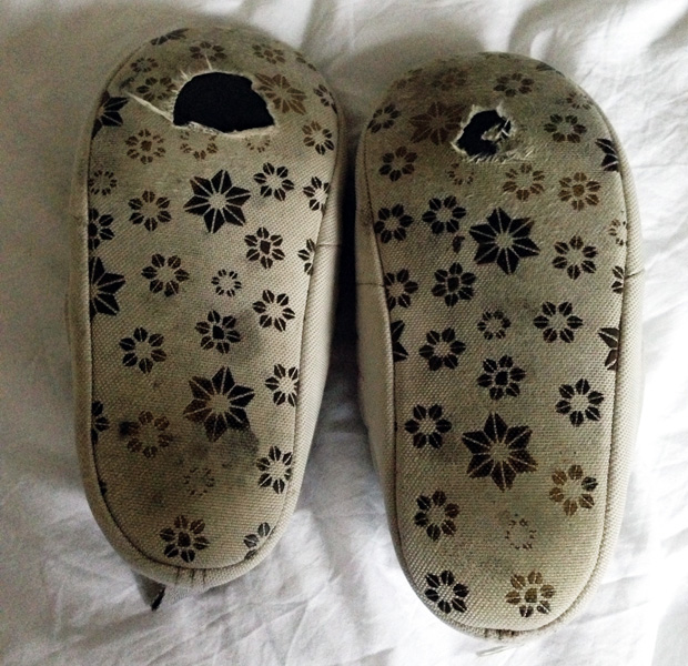 Old Slippers (The North Face Tent Mule)