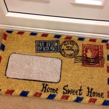 Review: Doormat from Flamingo Gifts