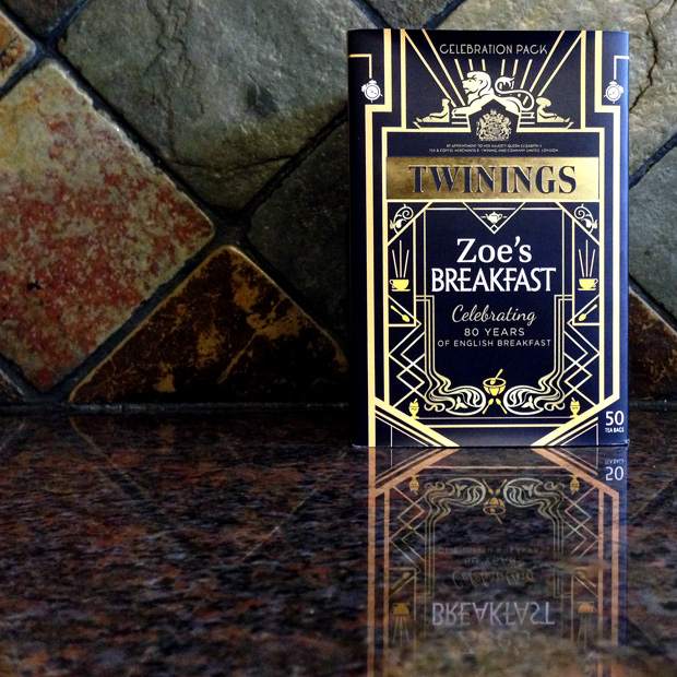 Zoe's Twinings English Breakfast Celebration Tea