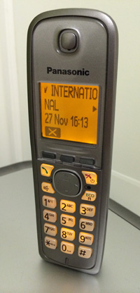 International Call on Home Phone