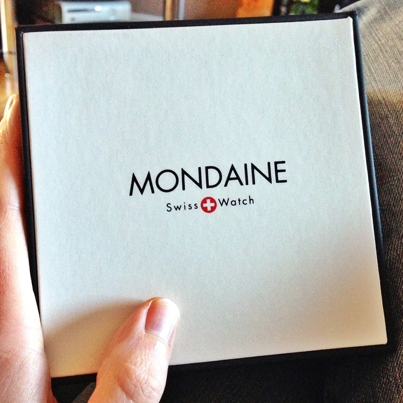 New Mondaine Swiss Railway Watch - Box
