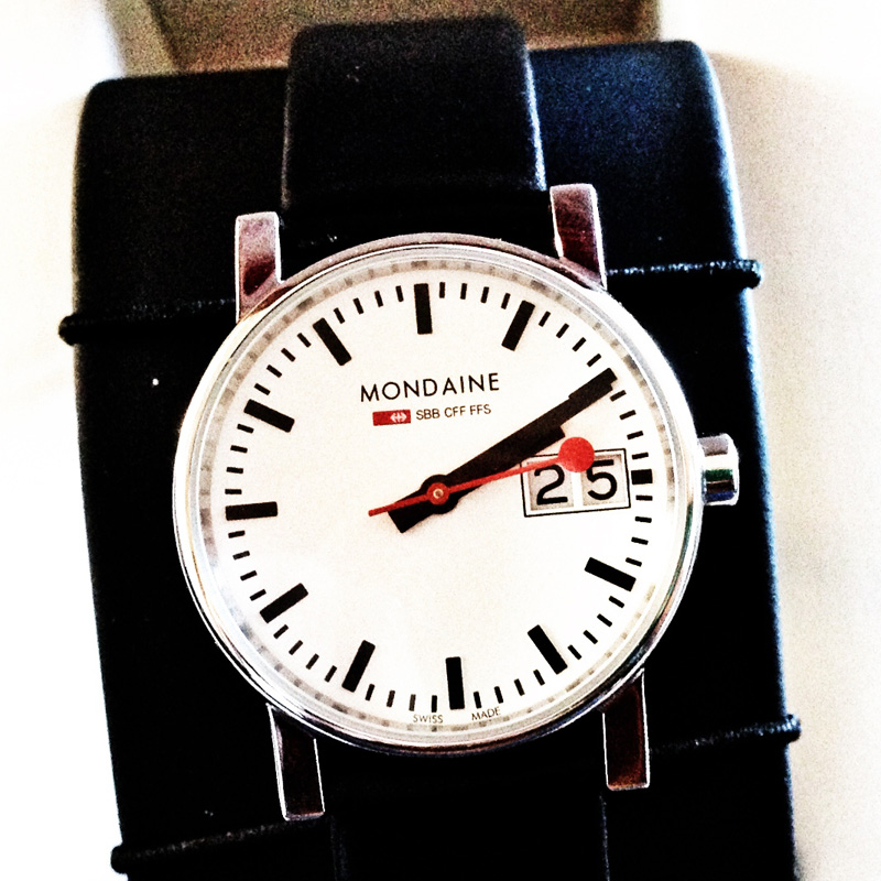 New Mondaine Swiss Railway Watch