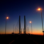 11 Jan - Sunset over Dartford Crossing QEII Bridge