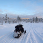 16 Jan - Snowmobile Fun in Ruka, Finland