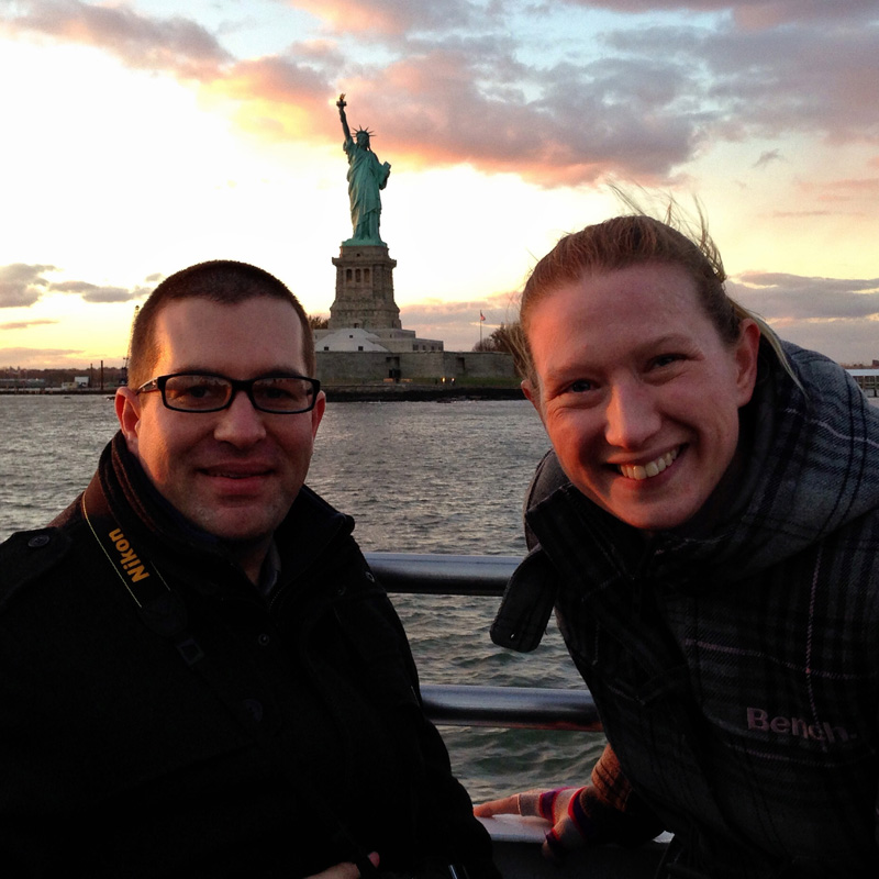 LincsGeek and Splodz and the Statue of Liberty