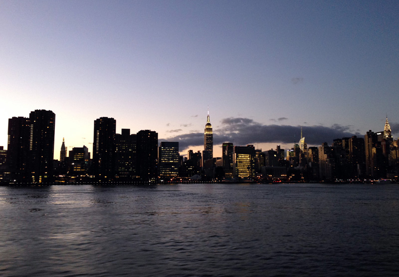 Manhattan from the River