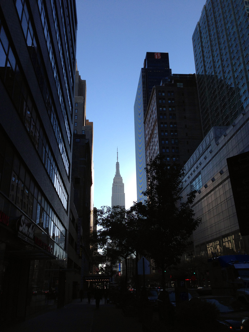 Empire State Building from 34th Street