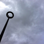 05 Feb - Lamp Post and Stormy Sky