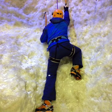 Ice Climbing in Covent Garden