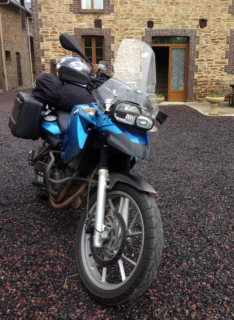 My bike at La Tringale
