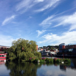 16 July - Big skies over Lincoln's Brayford Pool