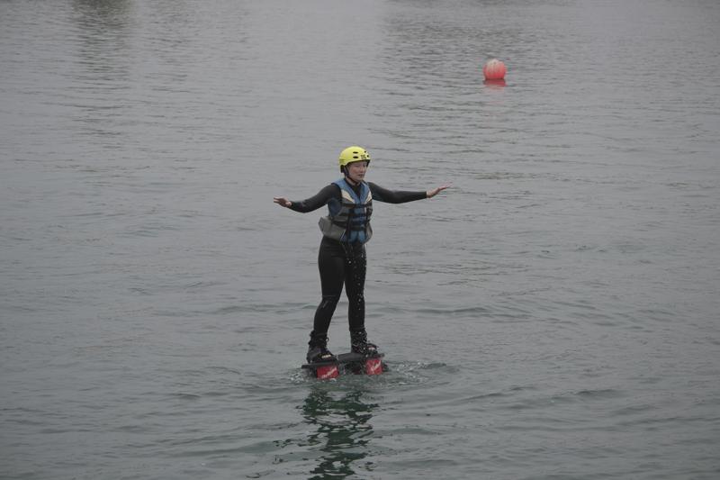Fly Boarding at Tattershall Lakes
