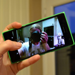 Taking a Selfie using the Lumia 735