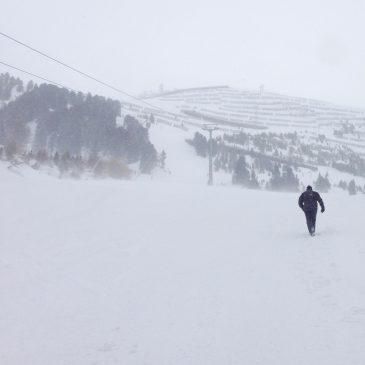 Winter Hiking Fun in the Austrian Alps