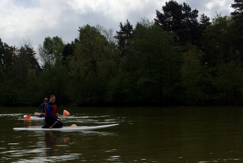 SUP Lesson at Center Parcs