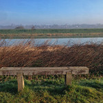 Self Care Sunday  - Bench on River Witham