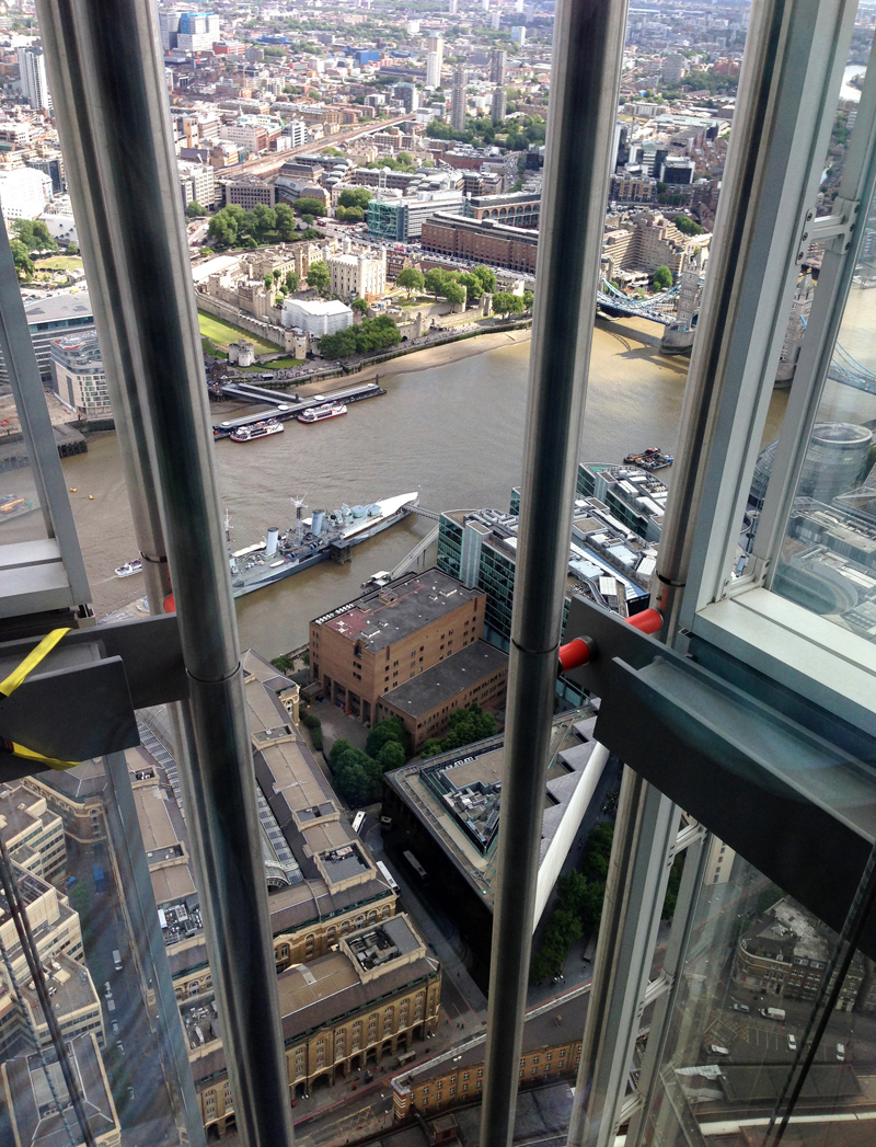 The View From The Shard Gt Splodz Blogz