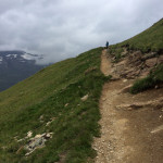 Hiking on Hohe Mut, Obergurgl, Alps, Austria > Merrell All Out Blaze Sieve Hiking Shoes / Sandals - Splodz Blogz