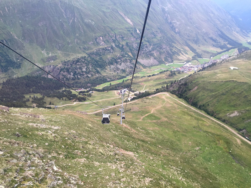 View from the Hohe Mut Bahn 2