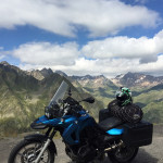BMW F650GS Packed for Touring
