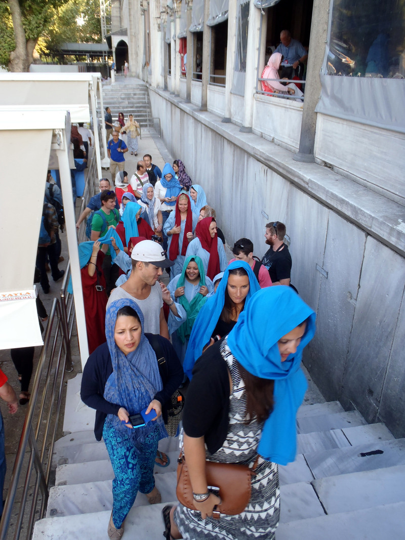 TopDeck Turkey Diary - Blue Mosque