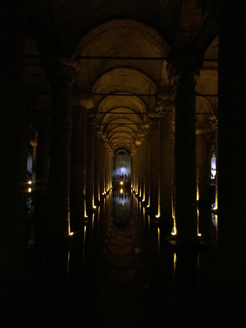 TopDeck Turkey Diary - Basilica Cistern