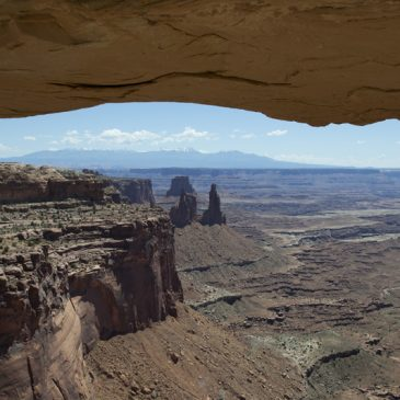 Too Hot to Hike in Bike Jeans. Canyonlands and Arches National Park.