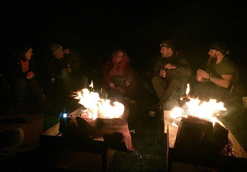 Winter Camping in Llyn Gwynant