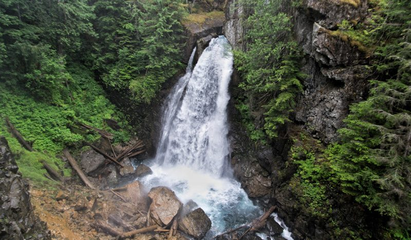 Splodz Blogz Zartusacan, Vancouver Island, Lady Falls
