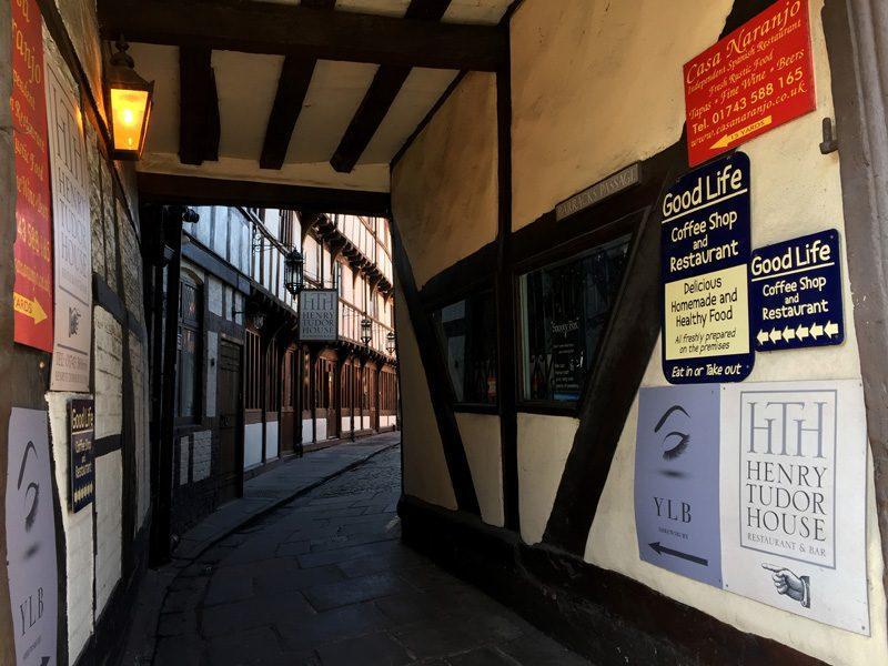Splodz Blogz | Original Shrewsbury | Henry Tudor House