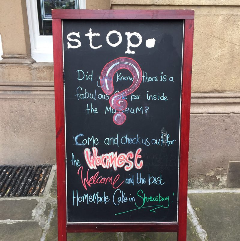 Splodz Blogz | Original Shrewsbury | Stop Cafe