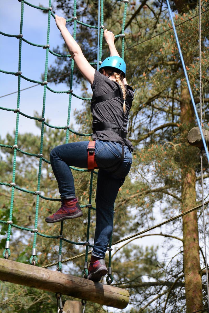 Splodz Blogz | Center Parcs Aerial Adventure