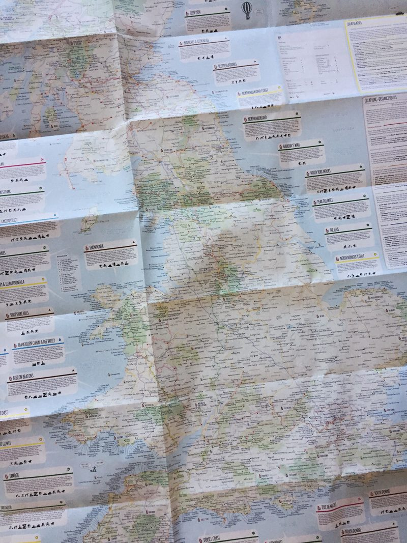 Splodz Blogz   The Great British Adventure Map